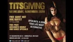 Deja Vu, Minneapolis offers Titsgiving – Strip Club Blog