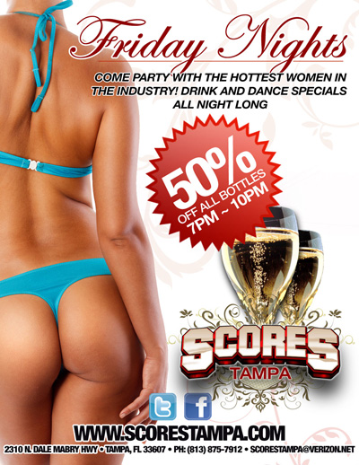 The BEST Strip Club Tampa | Gentlemen's Club | Scores Tampa