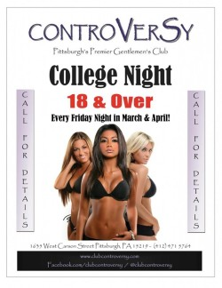 Specials & Party Packages  | Club Controversy