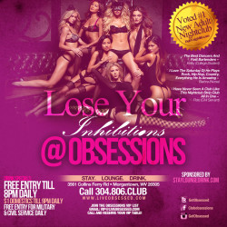 Club Obsessions – Morgantown, WV – 3561 Collins Ferry Road