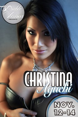 Double Visions Erotic Go-Go Event – Christina Aguchi – Nov 12 – 14