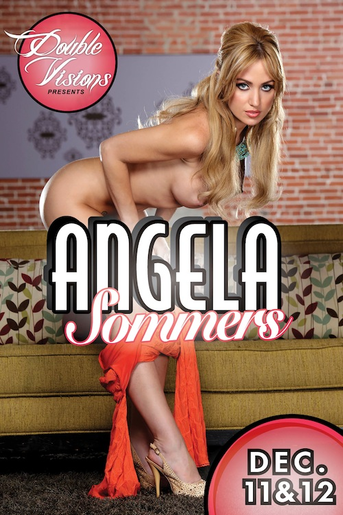Double Visions Erotic Go-Go Event – Angela Sommers – Dec 11 – 12