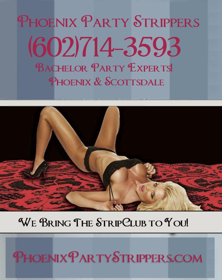 Book an amazing bachelor party w/ Phoenix 's hottest most gorgeous STRIPPERS – http: ...