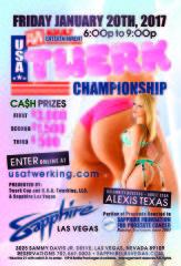 Twerk Cup – U.S.A. Twerking Championships 1/20/17 in Las Vegas, NV